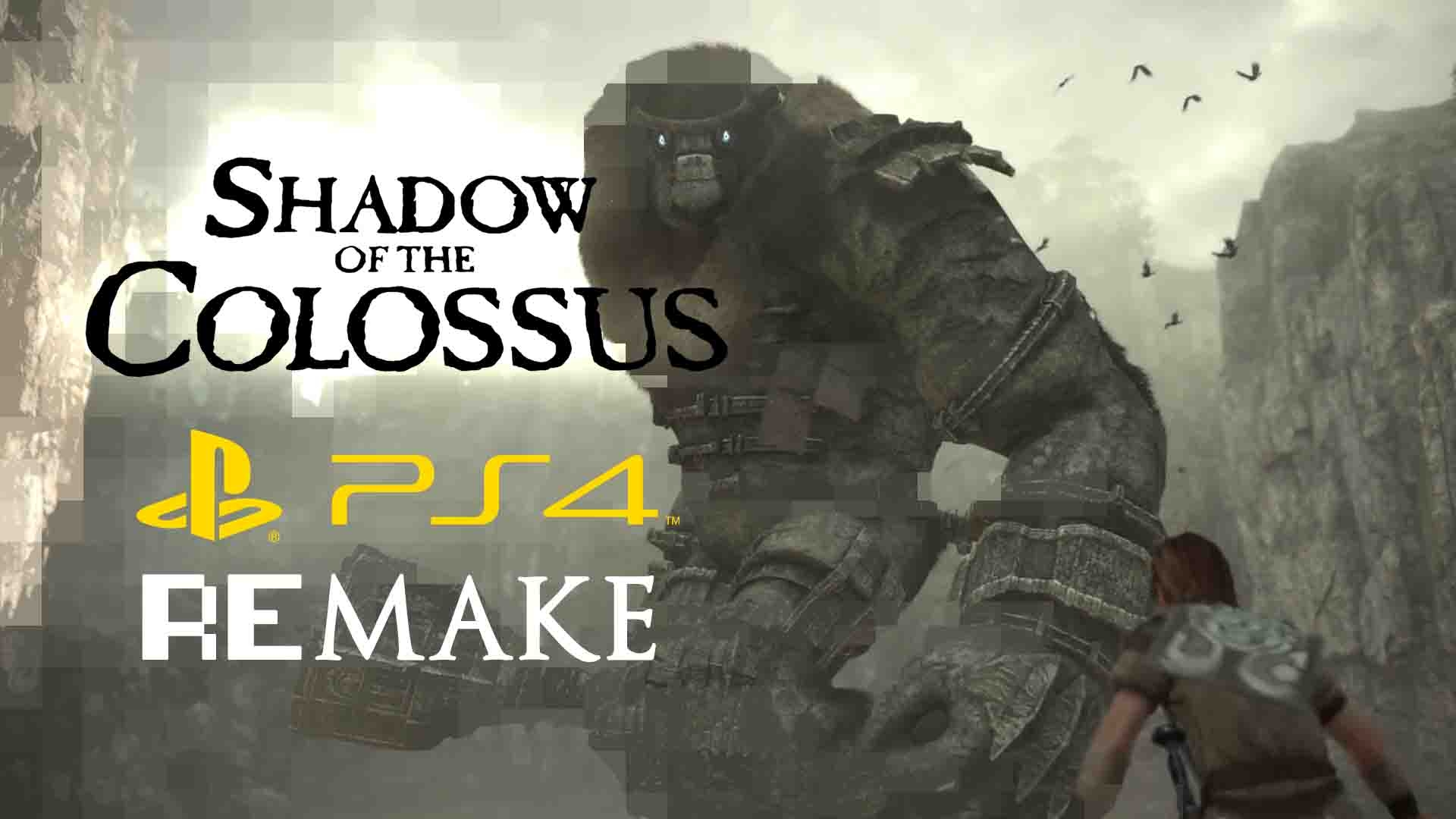 Ps4 Remake Shadow Of The Colossus Tgs 2017 Trailer Fextralife