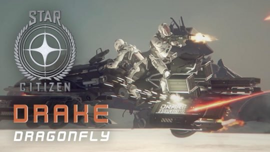 "Star Citizen Reveals The ""Drake Dragonfly"""