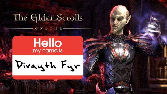 """The Elder Scrolls Online"" New Character: Divayth Fyr!"