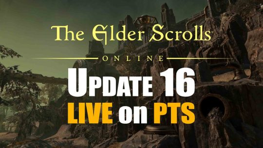 "Update 16 & Clockwork City DLC Now Live on ""The Elder Scrolls Online PTS""!"