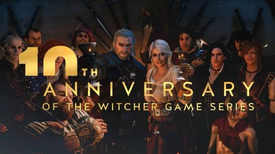 Celebrate with Geralt in The Witcher's 10th Anniversary