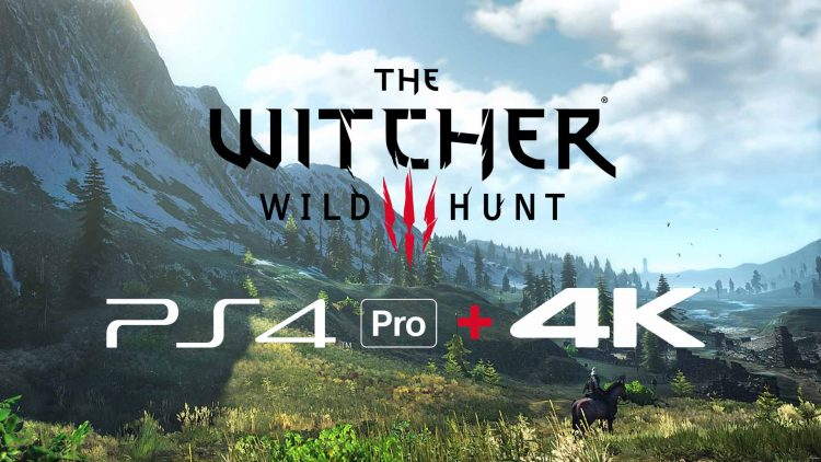 """The Witcher 3: Wild Hunt To Receive """"4K"""" Treatment!"""