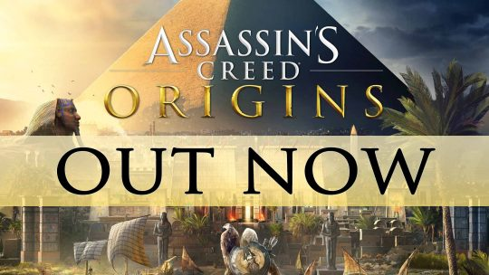 Assassin's Creed: Origins Launches Today!