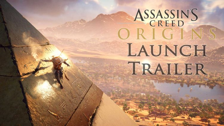 Assassin's Creed: Origins Official Launch Trailer!