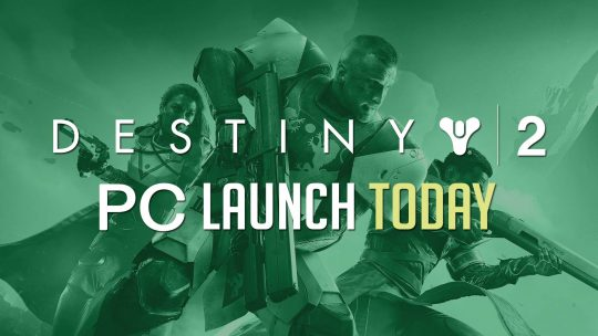 Destiny 2 Is Finally Launching On PC Today!