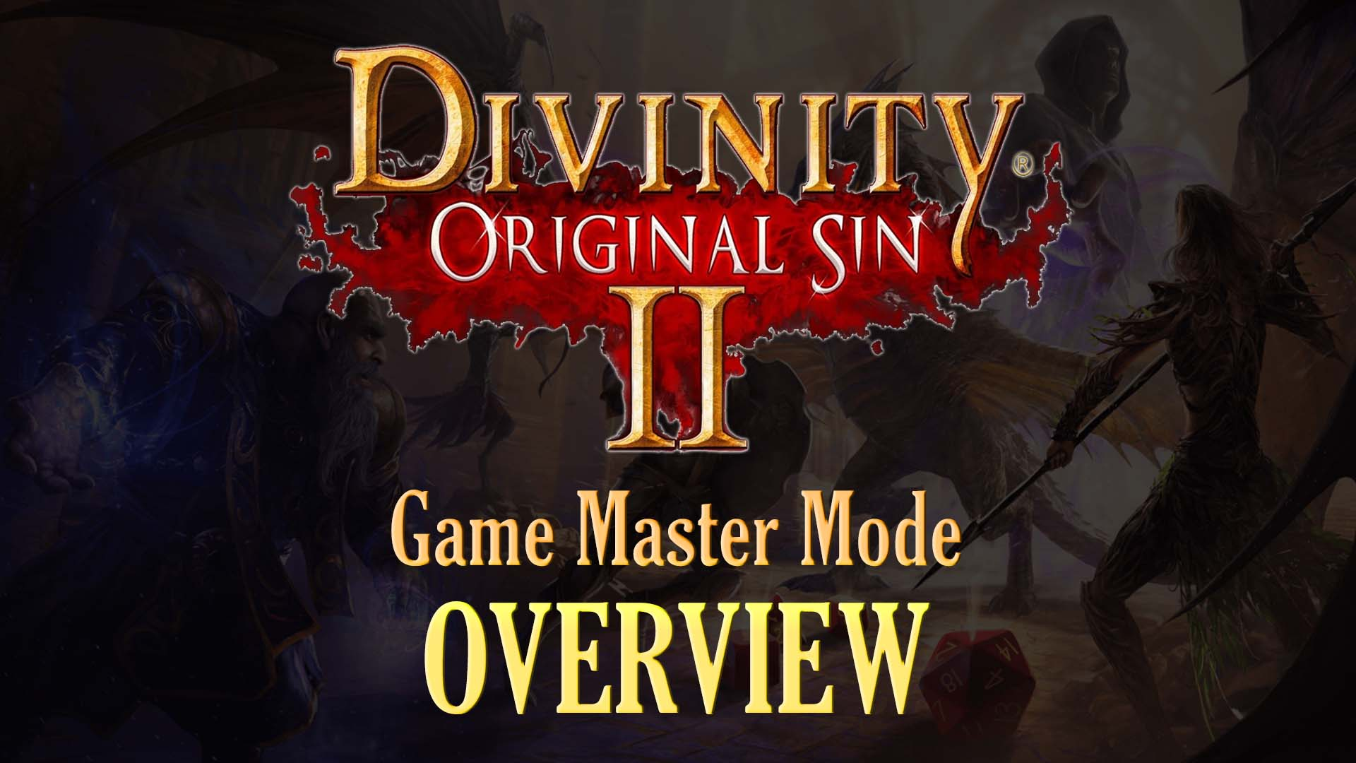 """Htc Vive System Requirements >> Divinity: Original Sin 2 - """"Game Master Mode"""" 