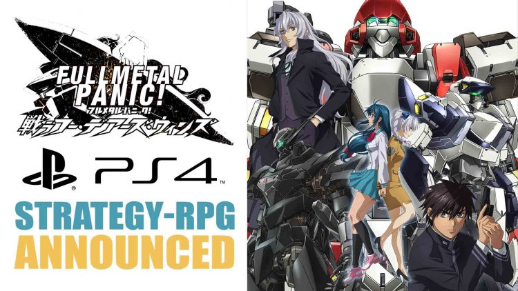 Full Metal Panic! Fight: Who Dares Wins Strategy-RPG Announced!