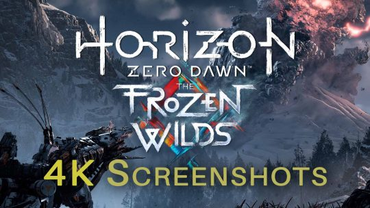 Horizon Zero Dawn: The Frozen Wilds DLC 4K Screenshots!