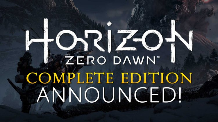 "Horizon Zero Dawn: Complete Edition With ""Frozen Wilds"" DLC Announced!"