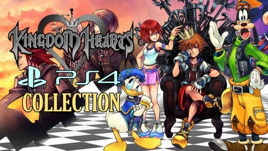 Kingdom Hearts Mega Collection For PS4 Spotted!