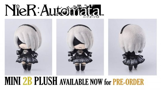 Nier: Automata 2B Mini Plush Open For Pre-order!