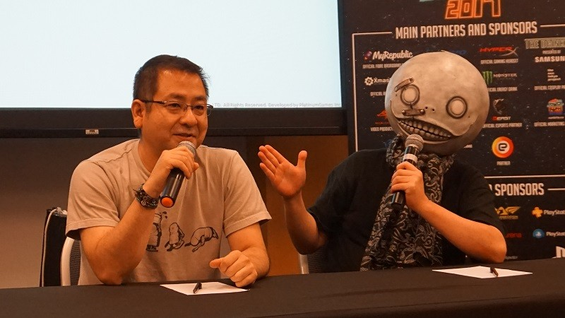 nier-automata-yoko-taro-yosuke-saito-interview-gamestart-2017-platinum-games-square-enix-action-rpg