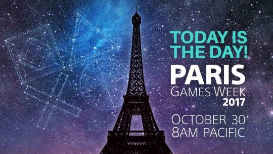 Watch Sony's Live Press Conference at Paris Games Week 2017!