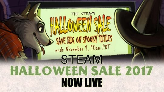 Steam Halloween Sale 2017 includes Salt & Sanctuary, Witcher 3, Tyranny & More!