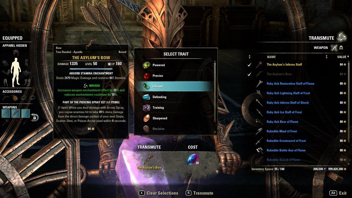 Transmutation | Elder Scrolls Online Wiki