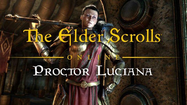 """""""The Elder Scrolls Online"""" Clockwork City Character: Proctor Luciana!"""