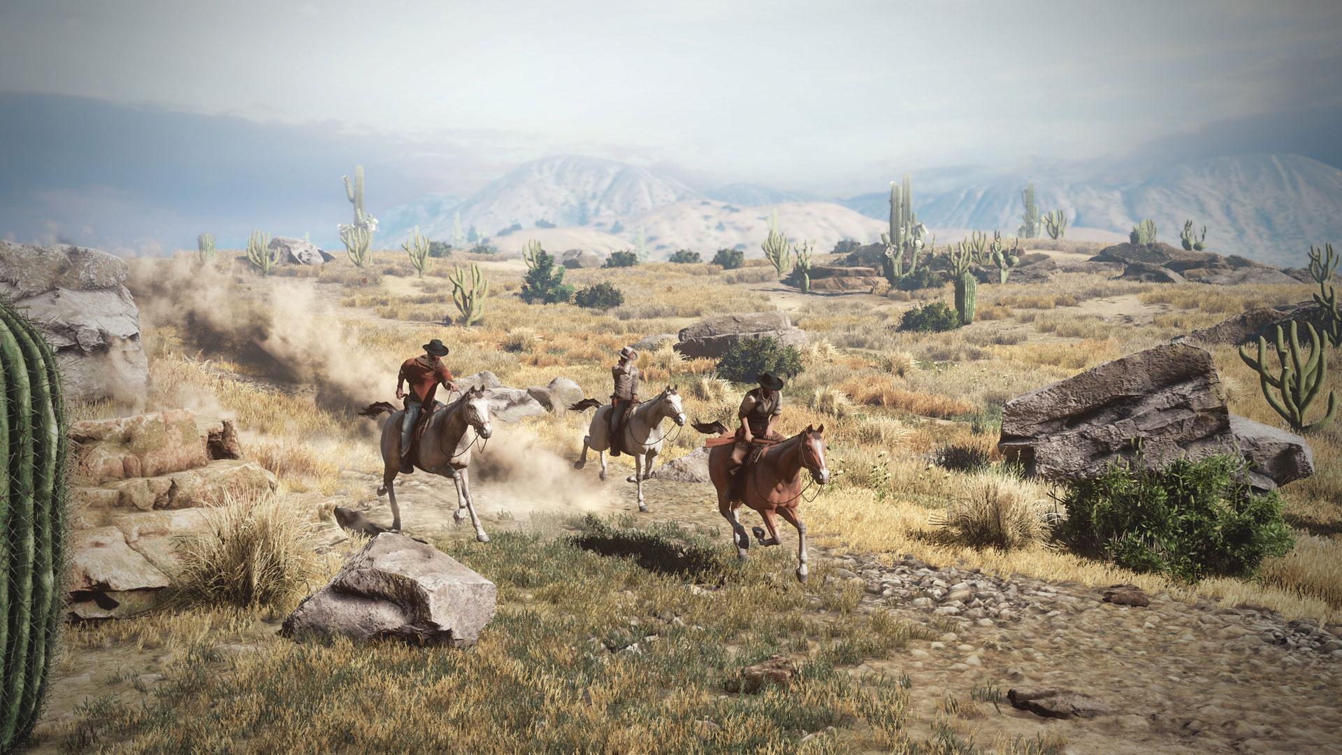 Wild West Online Game
