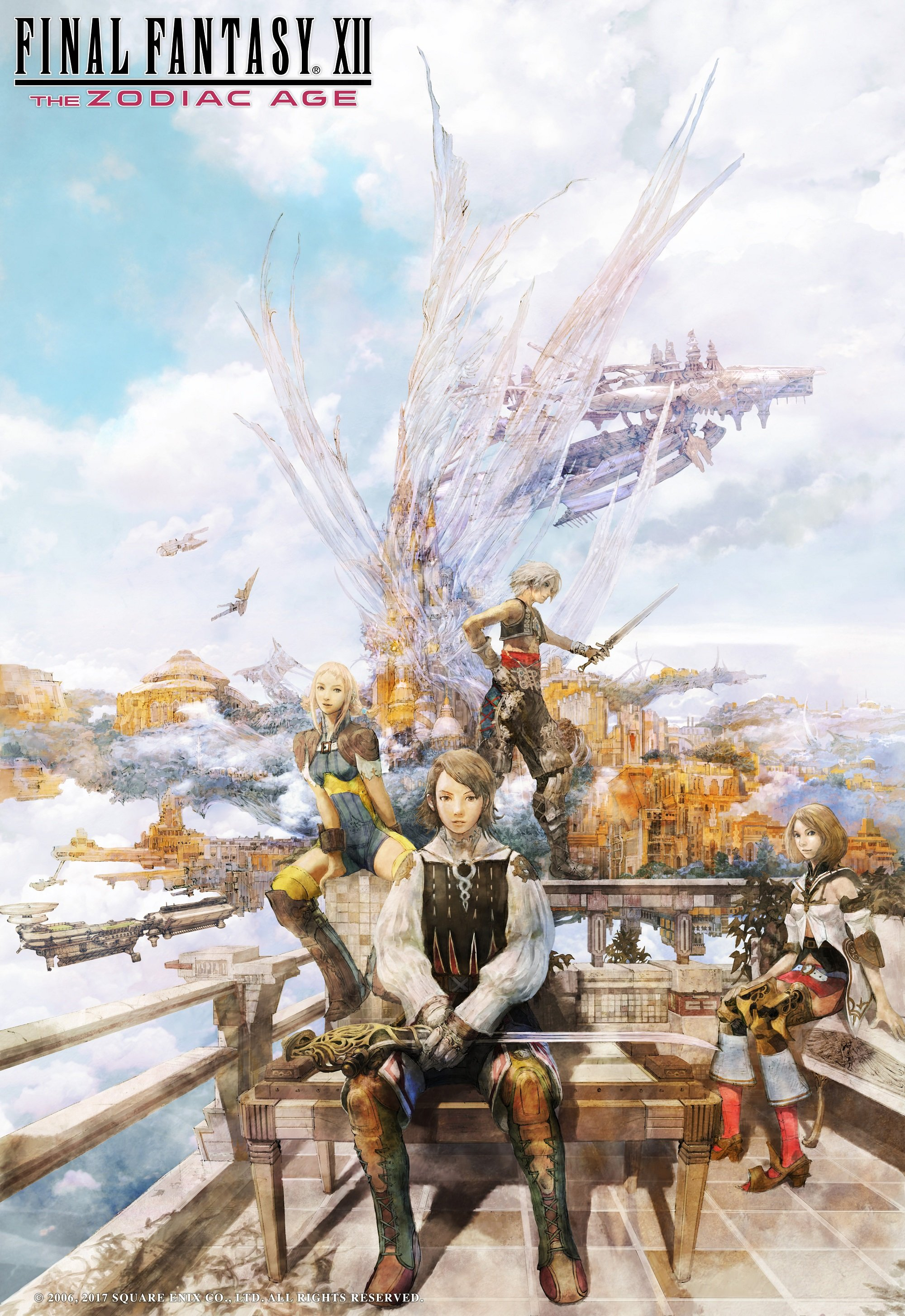 Final Fantasy Xii The Zodiac Age Celebrates 1 Million Sales With Free Ps4 Theme Fextralife He began work with squaresoft in 1991. final fantasy xii the zodiac age