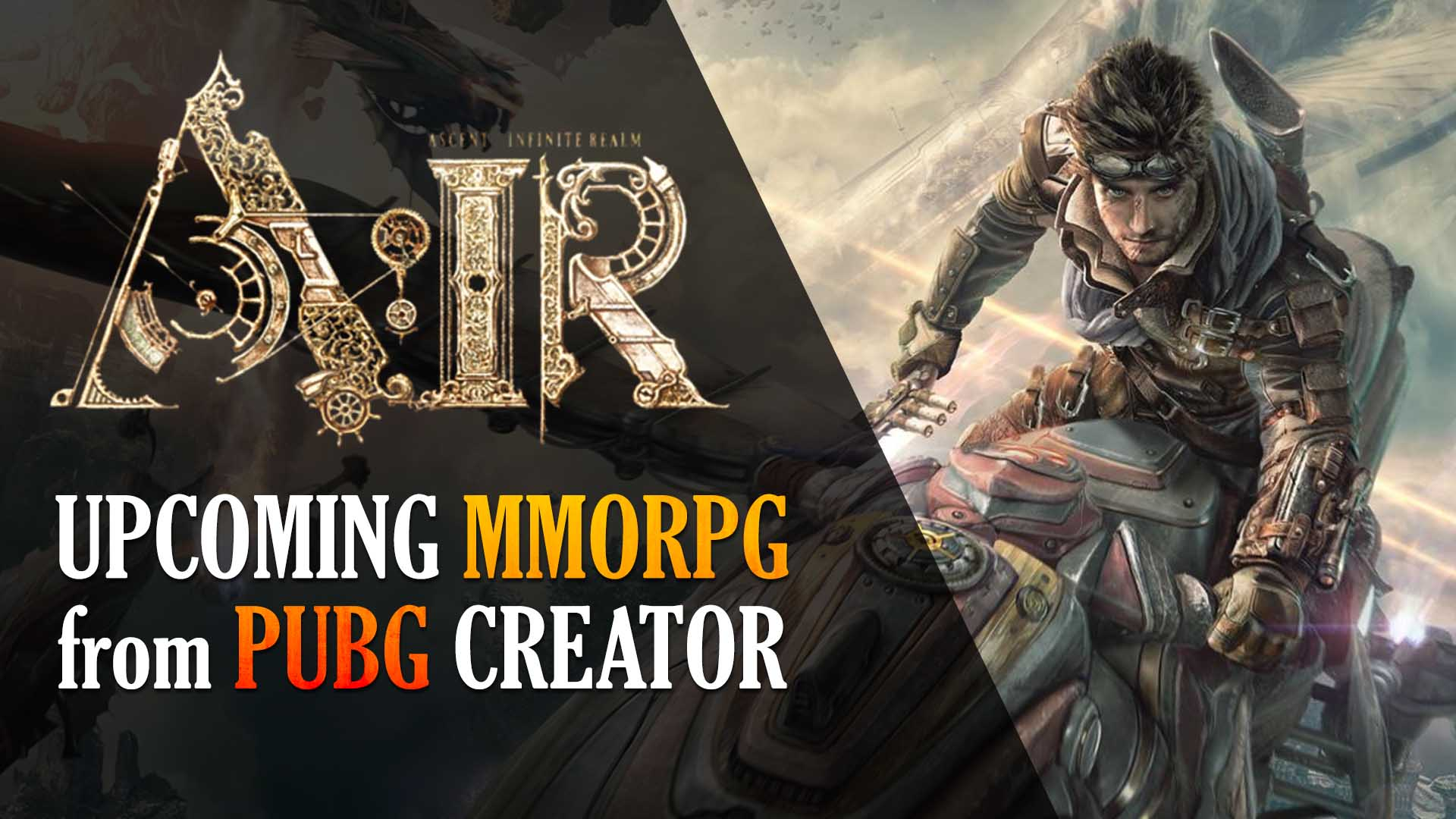 Pubg Wallpaper Creator: PUBG Maker Announces A.I.R. MMORPG!