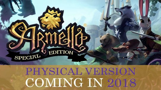Armello Tabletop RPG Getting Physical Release in 2018!