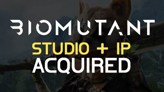 BioMutant Studio & IP Bought By THQ Nordic!