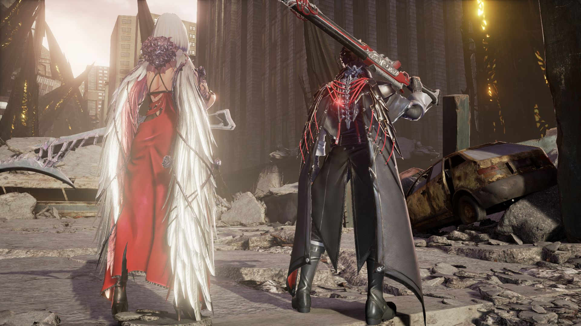 Code Vein New Screenshots Reveal Winter Level Animation