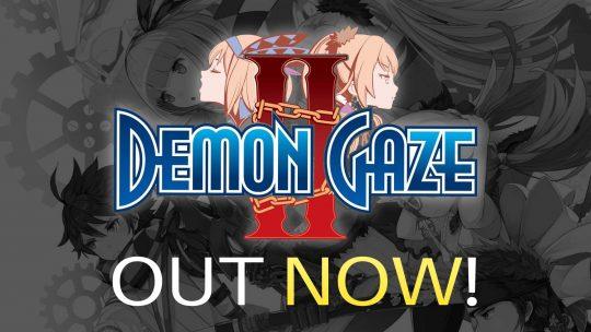 Demon Gaze 2 Dungeon-Crawler RPG Out Now!