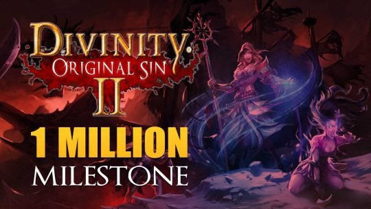 Divinity: Original Sin 2 Has Over A Million Copies Sold!