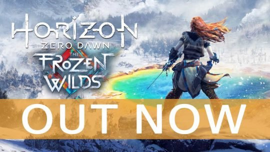 Horizon Zero Dawn: The Frozen Wilds DLC Out Now!