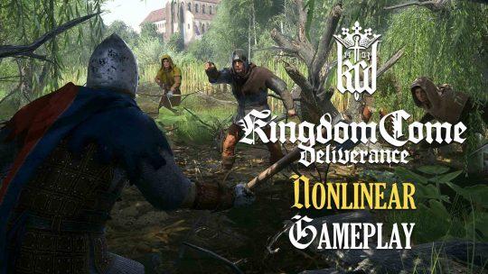 Kingdom Come: Deliverance Nonlinear Gameplay Showcase!