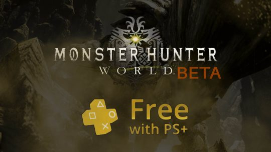PlayStation Plus December 2017 Free Games Has Monster Hunter: World BETA & More!
