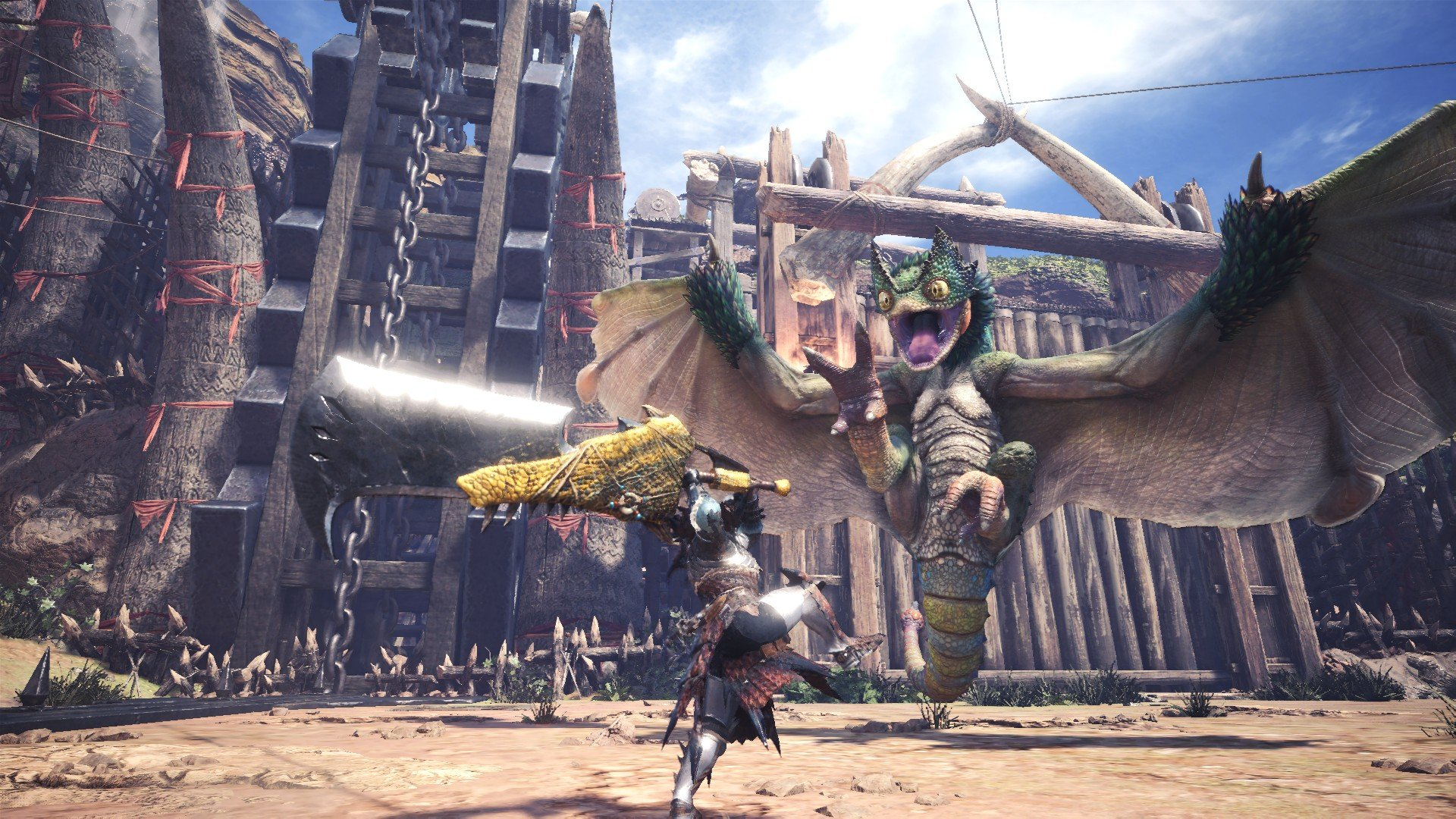 monster-hunter-world-capcom-sony-press-conference-paris-games-week-2017-action-rpg-jrpg-playstation-xbox-pc