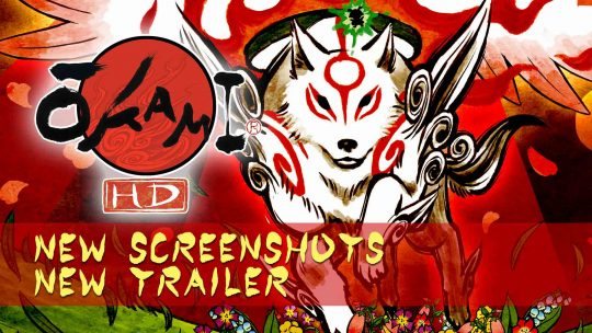 Okami HD New Screenshots & Trailer!