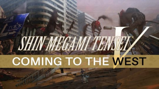 Shin Megami Tensei V Coming To The West!