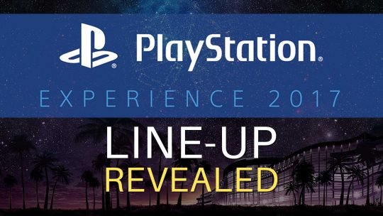 PlayStation Experience 2017 Line-Up Revealed!