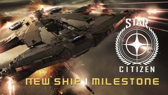 Star Citizen New Ship & Crowdfunding Milestone!