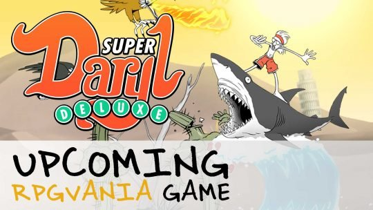 Super Daryl Deluxe 'RPGvania' Game Announced!