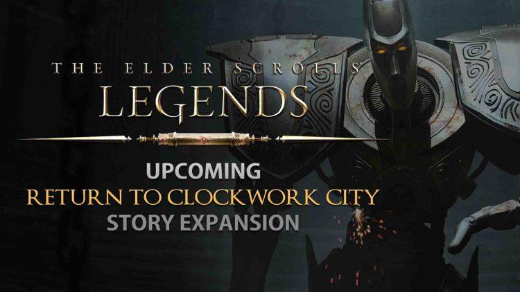 TES: Legends 'Return To Clockwork City' Story Expansion!