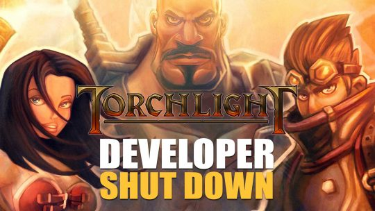 Torchlight Creator Runic Games Shut Down