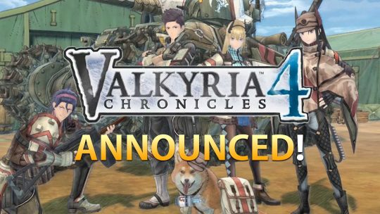 Valkyria Chronicles 4 Announced!