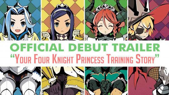 Your Four Knight Princess Training Story Official Trailer!
