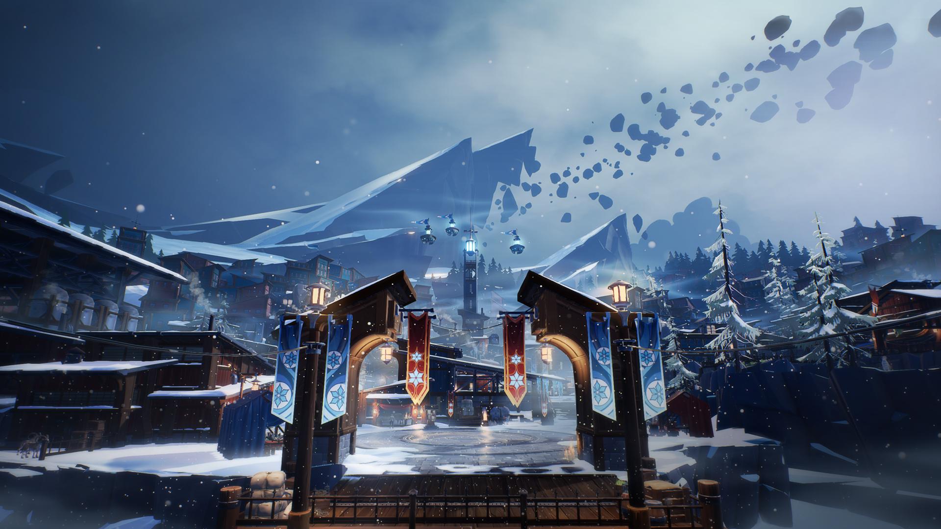Dauntless-Frostfall-2017-Seasonal-Holiday-Event-SnowCity