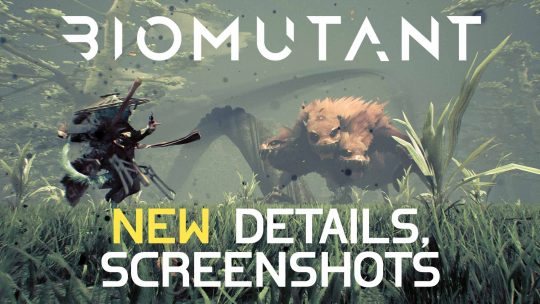 BioMutant New Game Details & Screenshots!