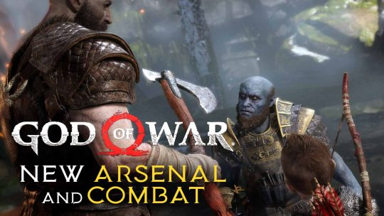 God of War Leviathan War Axe & Combat!