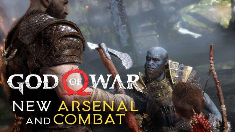 God of War Leviathan War Axe & Combat!