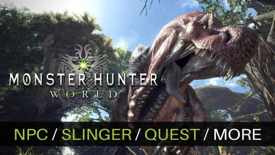 Monster Hunter: World New Screenshots & Video!