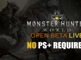 Monster Hunter: World Open Beta LIVE & No PS+ Required!