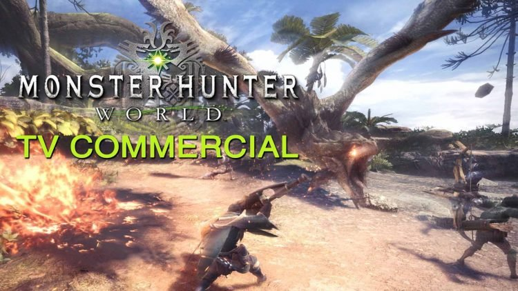 monster hunter world tv commercial is full of hype fextralife