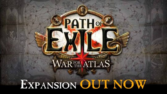 Path of Exile: War for the Atlas Expansion Out Now!