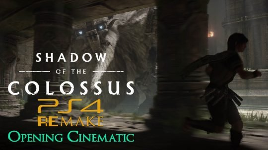 Shadow of the Colossus PS4 Remake Opening Cinematic!